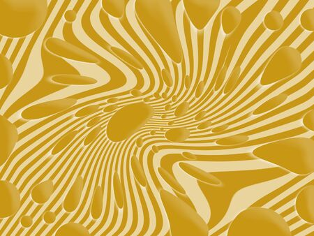 ochre: Ochre dynamic abstract background