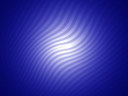 Luminous indigo blue striped background with curves photo