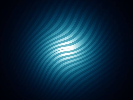 Cian blue dark striped background with central light photo