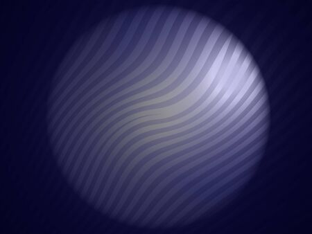 Blue dark zebra striped background with circular light at the center photo