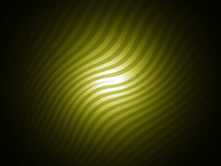 Dark striped background in olive green with a centered light photo