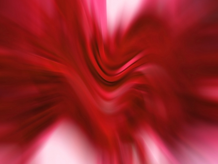 Red hot dynamic blurs in abstract background photo