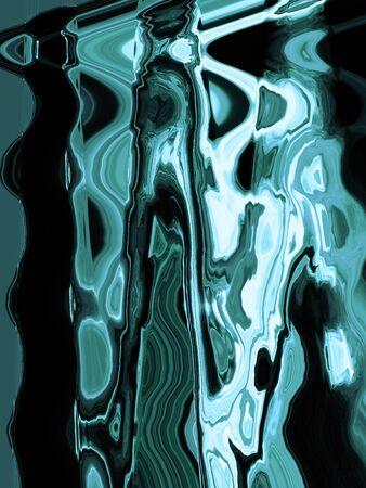 Blueish malachite stone texture background photo