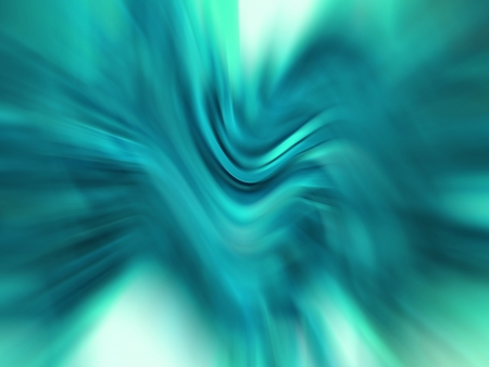 Turquoise aqua blue blurs on abstract horizontal background photo