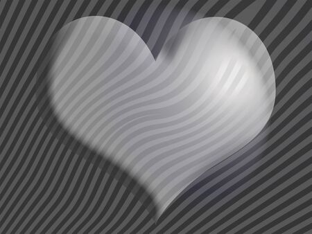 Heart, silver, stripes, zebra, backgrounds photo