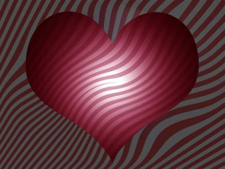 Red brilliant striped background  photo