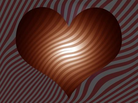 sobrio: Sober de fondo a rayas con forma de coraz�n