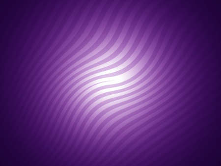 Purple waves on striped abstract background photo