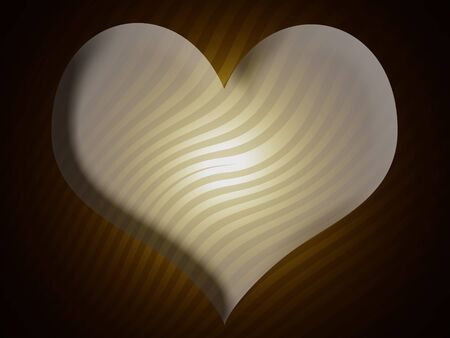 Heart, beige, brown, zebra pattern, background photo