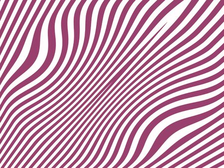 purpleish: Purpleish and white curves on striped background Stock Photo