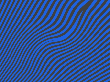 Soft curves in lines in blue and black in abstract background Stock Photo - 13792392