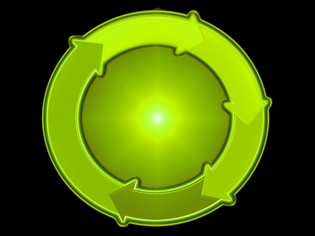 cicla: Verde, ecológico, ecología, ecológico, reciclaje, resumen, fondo, gráfico