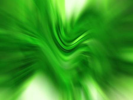 Horizontal green blurred dynamic background Stock Photo - 14559433