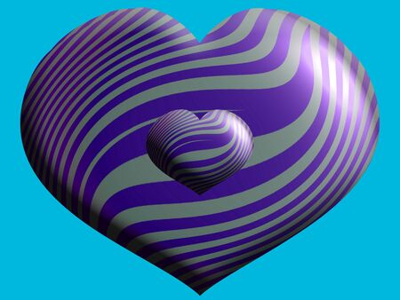 aniversaries: Hearts, stripes, heart, shape, background