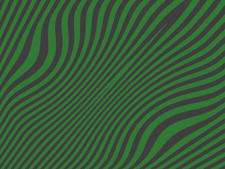 Green and grey dark background in lines in waves photo