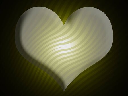 Heart shape in abstract background photo