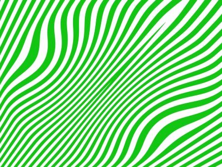 Green stripes on white background Stock Photo - 15750283
