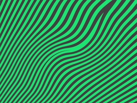 Green lines on dark background Stock Photo - 15750263