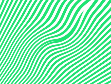 Green waves over white background Stock Photo - 15750257