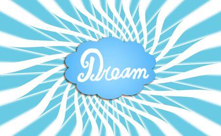 rosettes: Dream in blue cloud