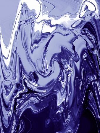 metallized: Blue metallized painting background Stock Photo