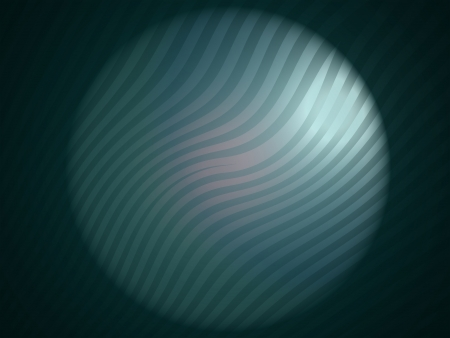 cian: Cian striped circle in abstract backdrop