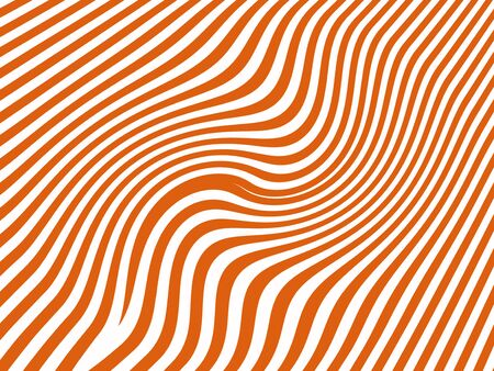 Orange and white striped background photo