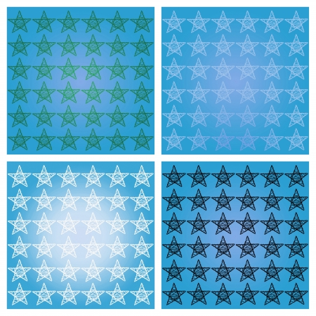 Blue backgrounds with stars for xmas Stock Photo - 16856656