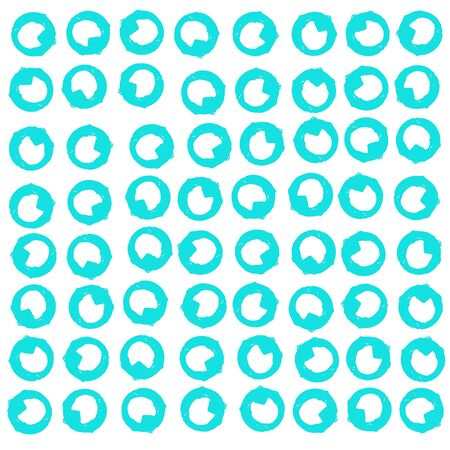 Turquoise pattern of rustic rings of glasses of water traces over white Stock Photo - 16856619