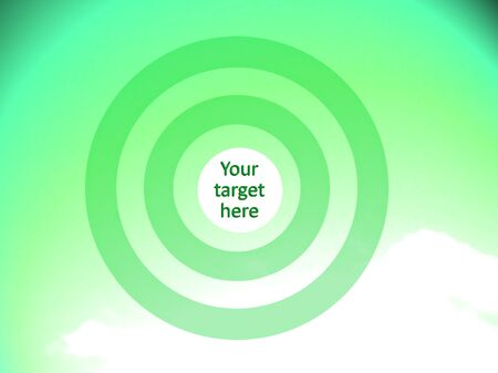 focalize: Green concentric circles to visualice your eco targets