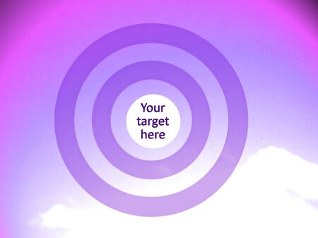 focalize: Violet and pink background to focalize your target