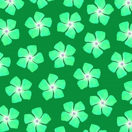 Brilliant green flowers over dark green background Stock Photo - 17225605