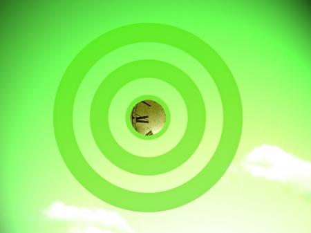 focalize: Eco time conceptual image
