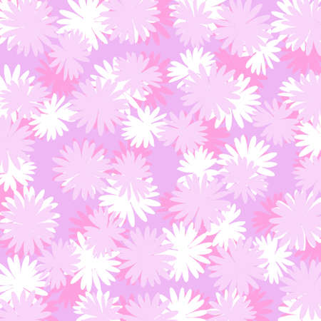 pinks: Flowery image in pinks as background Stock Photo