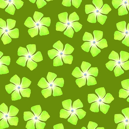Green flowery background Stock Photo - 17226911