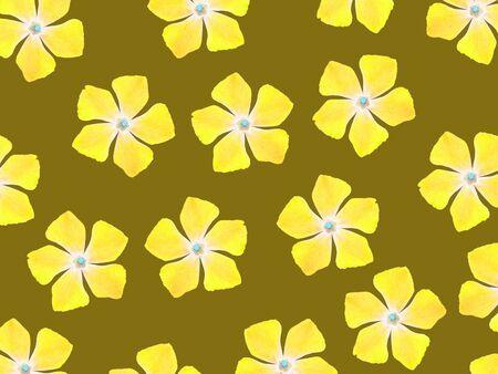 Yellow flowers of five petals over brown background stock photo stock photo yellow flowers of five petals over brown background mightylinksfo