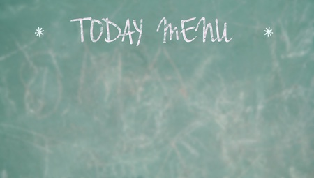 Today menu space for a bar or restaurant photo