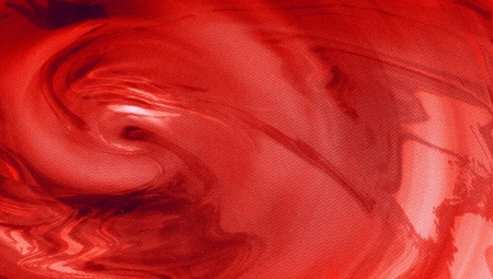 Red liquid acrylic painting abstract background photo