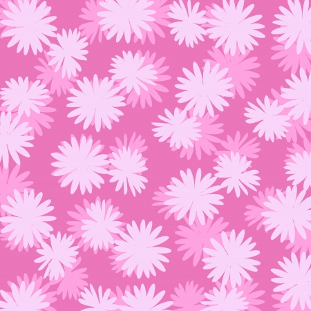 superposition: Pink flowers background Stock Photo