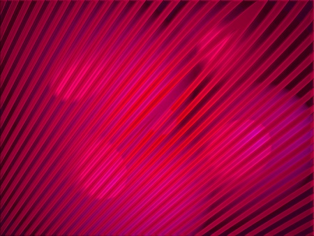 Magenta lights on red striped abstract background photo