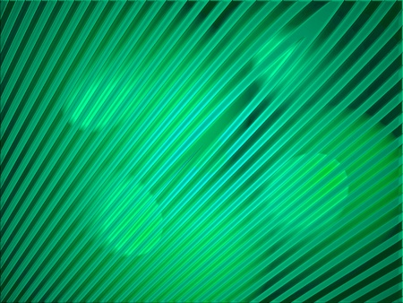 diagonal stripes: Green lights on diagonal stripes background Stock Photo