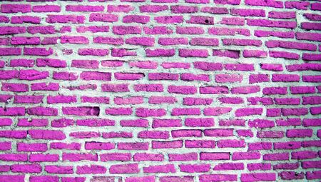 brickwall: Pink brickwall texture background