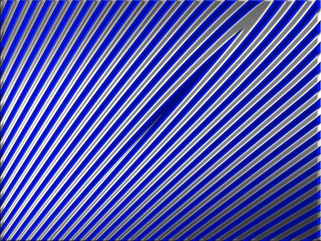 Silver and indigo blue striped background photo