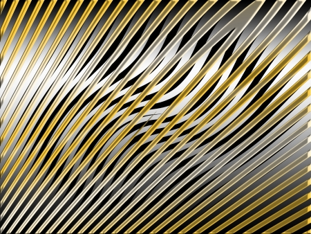 metalized: Silver and gold web abstract background