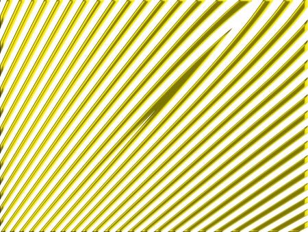 rayures diagonales: Or rayures diagonales droites sur fond blanc