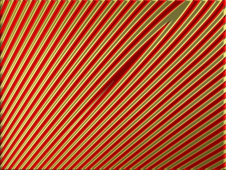 Christmas abstract background in red and gold with diagonal thin lines photo