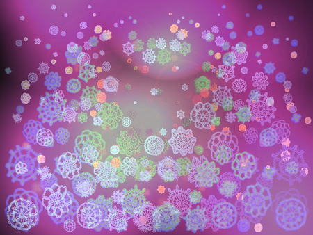 picots: Purple space creative blured soft background