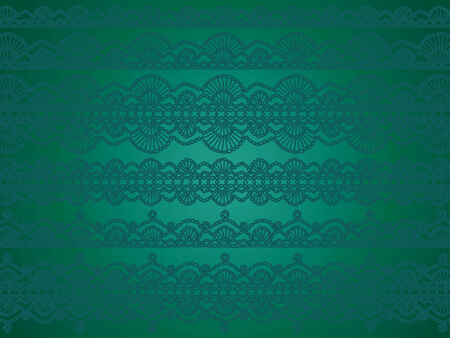purls: Subtle elegant christmas background with vintage luxury crochet laces Stock Photo