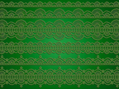 sophistication: Green sofisticated elegant christmas wallpaper Stock Photo