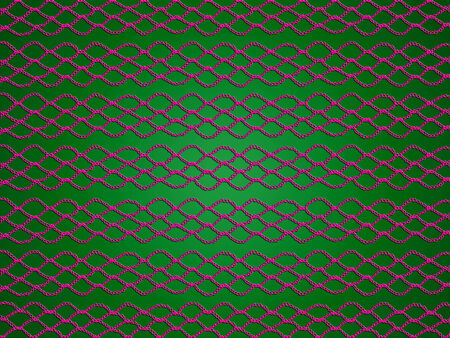 sofisticated: Purple web texture on green xmas background Stock Photo